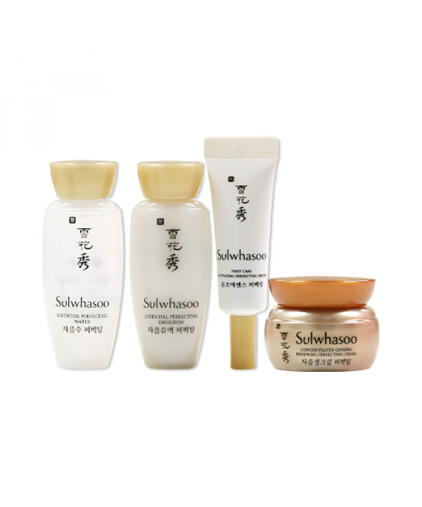 [Sulwhasoo_Sample] Perfecting Daily Routine Kit Sample - 1pack (4items)