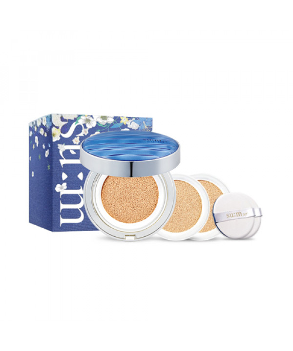[Sum37] Waterfull CC Cushion Perfect Finish Special Set - 1pack (15g+Refill 2pcs)