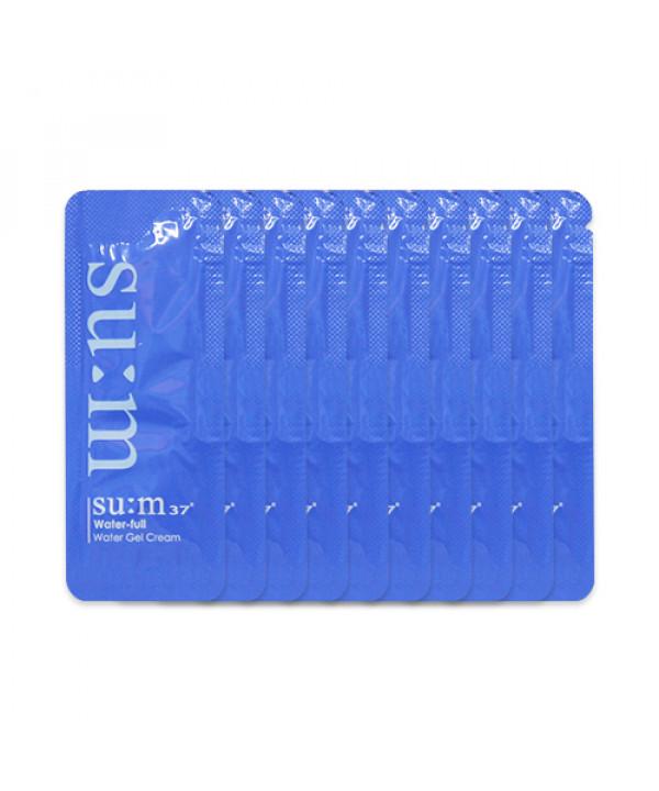 [Sum37_Sample] Water Full Water Gel Cream Samples - 10pcs
