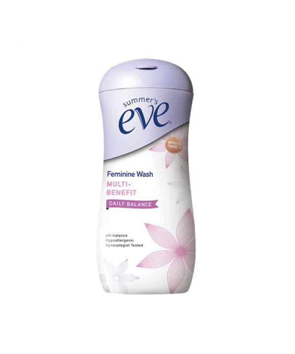 [SUMMERS] Feminine Wash Multi Benefit Daily Balance - 237ml