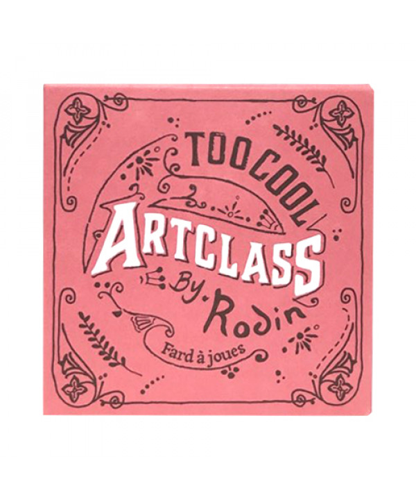 W-[TOO COOL FOR SCHOOL] Art Class By Rodin Blusher - 8.7g No.De Rosee x 10ea