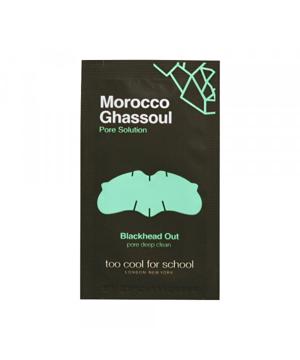 W-[TOO COOL FOR SCHOOL] Morocco Ghassoul Blackhead Out - 1pcs x 10ea