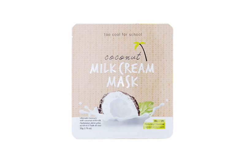 [TOO COOL FOR SCHOOL] Coconut Milk Cream Mask - 1pcs