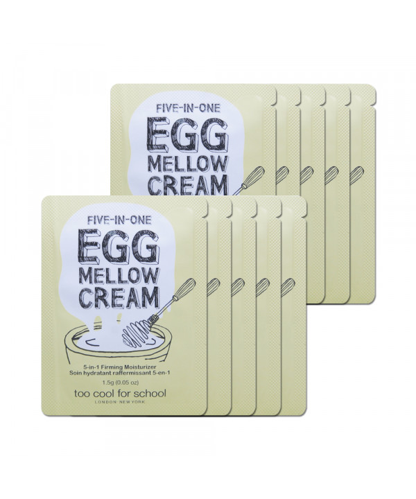 [TOO COOL FOR SCHOOL_Sample] Egg Mellow Cream Samples - 10pcs