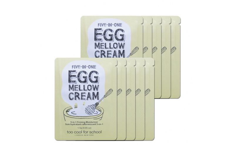 [TOO COOL FOR SCHOOL_Sample] Egg Mellow Cream Samples - 10pcs