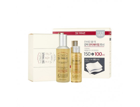 [THE FACE SHOP] The Therapy Essential Tonic Treatment Special Set - 1pack