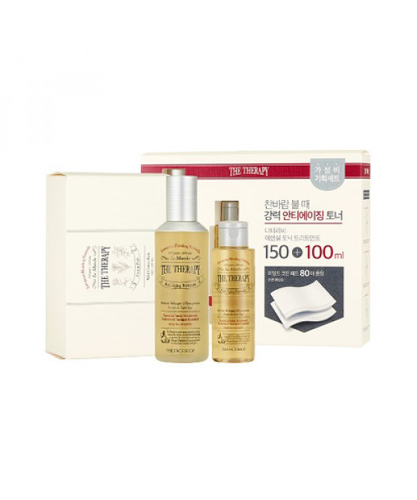 W-[THE FACE SHOP] The Therapy Essential Tonic Treatment Special Set - 1pack x 10ea