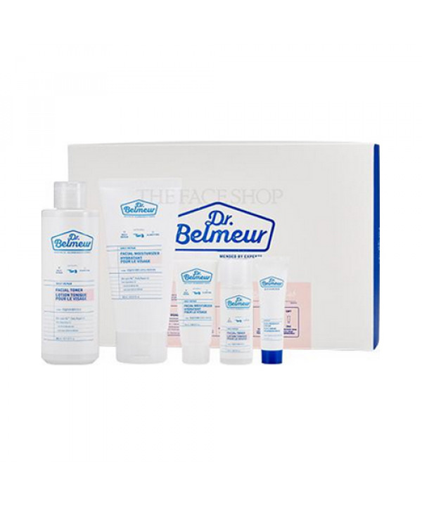 [THE FACE SHOP] Dr.Belmeur Daily Repair Skincare Set - 1pack (5items)