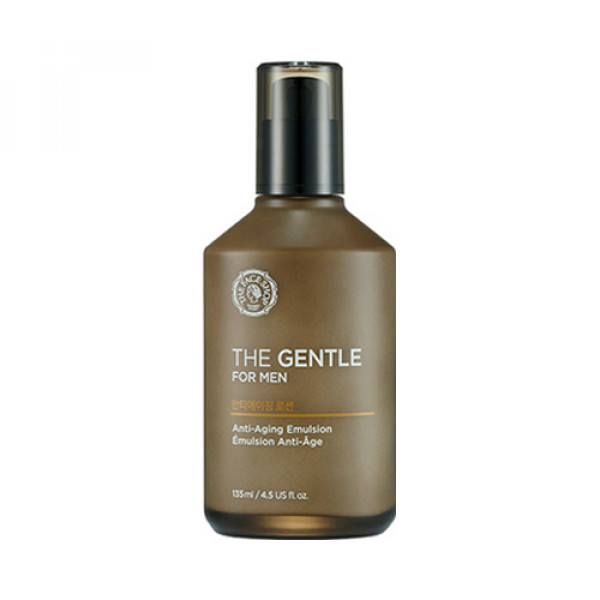 [THE FACE SHOP] The Gentle For Men Anti Aging Emulsion - 135ml
