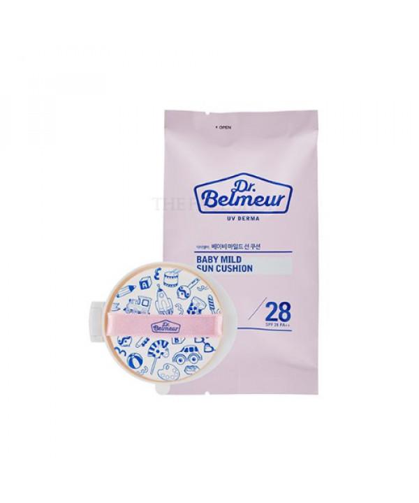 [THE FACE SHOP] Dr.Belmeur UV Derma Baby Mild Sun Cushion Refill - 15g (SPF28 PA++)