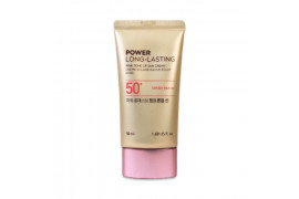 [THE FACE SHOP_50% SALE] Power Long Lasting Pink Tone Up Sun Cream - 50ml (SPF50+ PA++++)