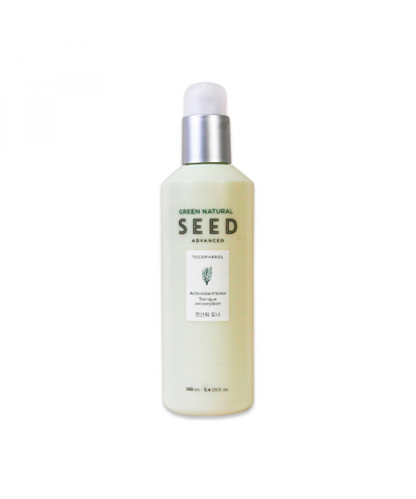 [THE FACE SHOP] Green Natural Seed Antioxidant Toner - 160ml