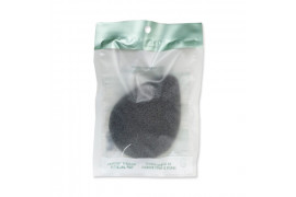 [THE FACE SHOP] Daily Beauty Tools Charcoal & Konjac Cleansing Puff - 1pcs