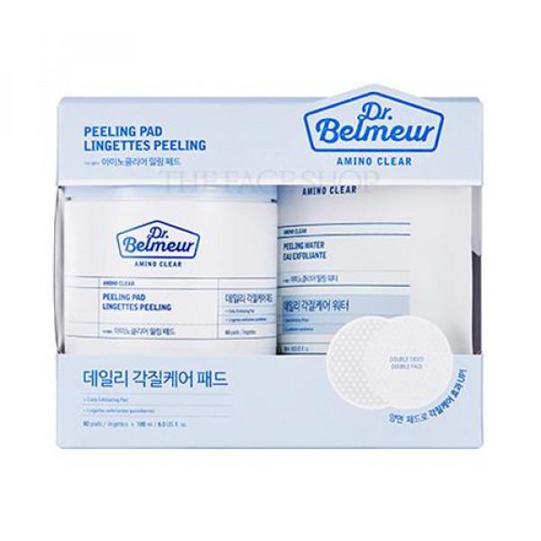 [THE FACE SHOP] Dr.Belmeur Amino Clear Peeling Pad - 1pack (60pcs+180ml)
