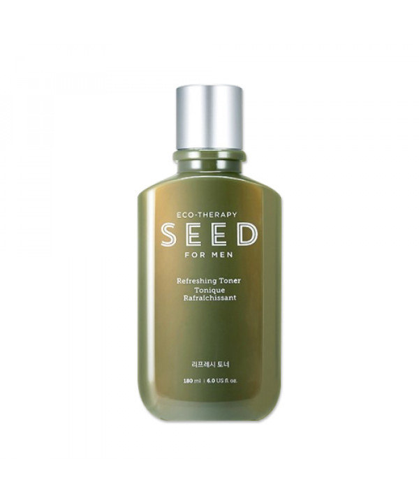 W-[THE FACE SHOP] Seed For Men Refreshing Toner - 180ml x 10ea