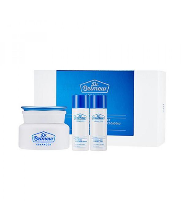 [THE FACE SHOP] Dr.Belmeur Advanced Cica Hydro Cream Gift Set - 1pack (3items)