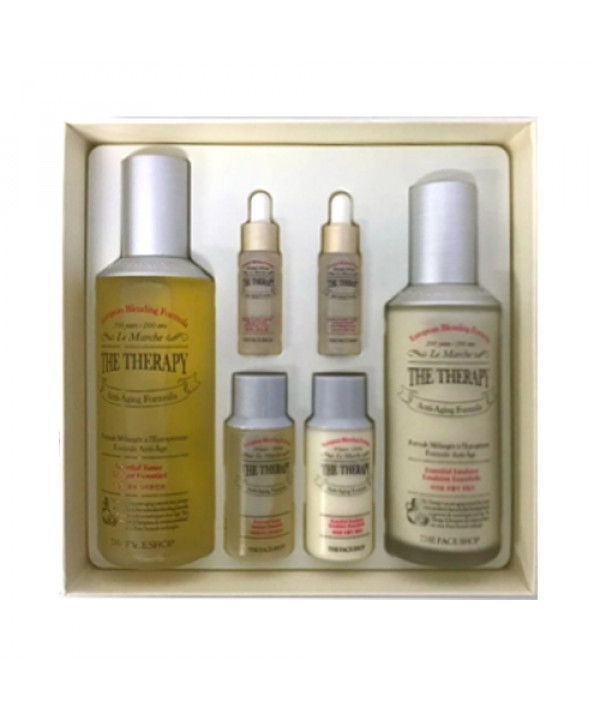 [THE FACE SHOP] The Therapy Special Gift Set - 1pack (6items)