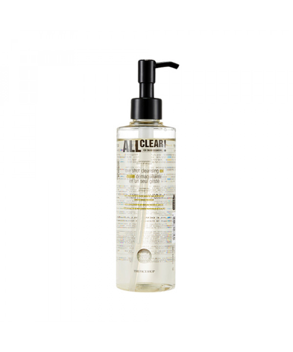 [THE FACE SHOP_50% SALE] All Clear One Shot Cleansing Oil - 250ml