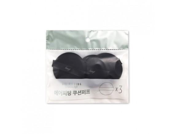 [THE FACE SHOP] Daily Beauty Tools Air Fitting Cushion Puff - 1pack (3pcs)