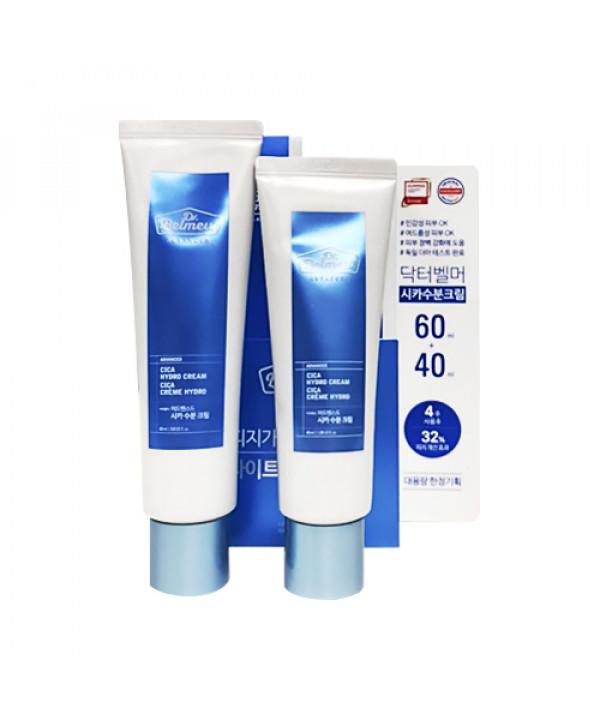 [THE FACE SHOP] Dr.Belmeur Advanced Cica Hydro Cream Set - 1pack (2items)