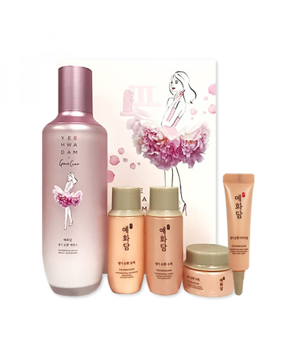 [THE FACE SHOP] Yehwadam x Grace Ciao Revitalizing Serum Set - 1pack (5items)