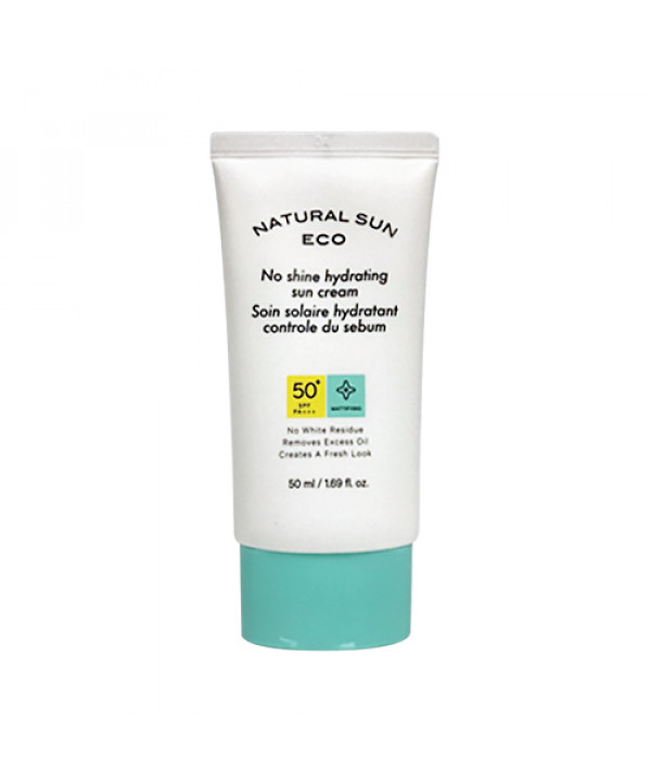 [THE FACE SHOP] Natural Sun Eco No Shine Hydrating Sun Cream (2020) - 50ml (SPF50+ PA+++)