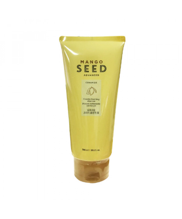 [THE FACE SHOP] Mango Seed Advanced Creamy Cleansing Foam (Jumbo Size) - 300ml