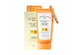 W-[THE FACE SHOP] Natural Sun Eco Super Active Sun Cream Special Set - 1pack (2items) x 10ea