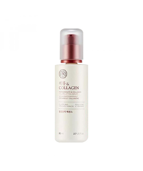 [THE FACE SHOP] Pomegranate And Collagen Volume Lifting Serum - 80ml