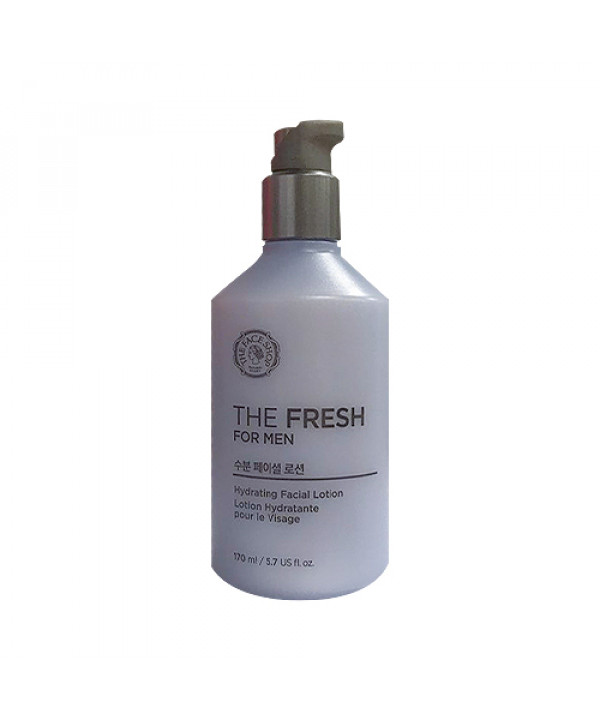 W-[THE FACE SHOP] The Fresh For Men Hydrating Facial Lotion - 170ml x 10ea