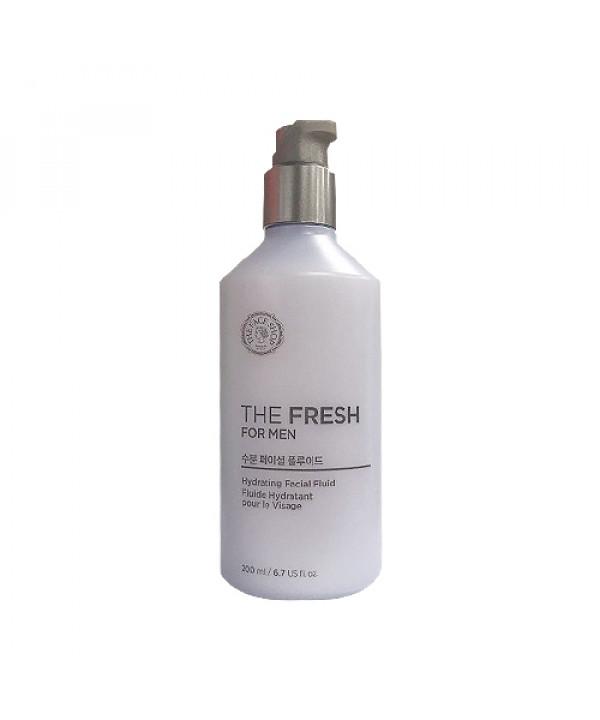 W-[THE FACE SHOP] The Fresh For Men Hydrating Facial Fluid (2020)  - 200ml x 10ea