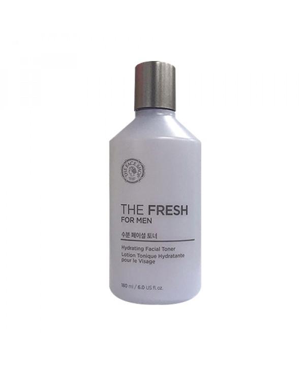 W-[THE FACE SHOP] The Fresh For Men Hydrating Facial Toner (2020) - 180ml x 10ea