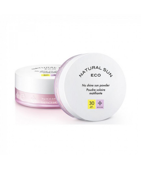 [THE FACE SHOP] Natural Sun Eco No Shine Sun Powder - 13g (SPF30 PA++)