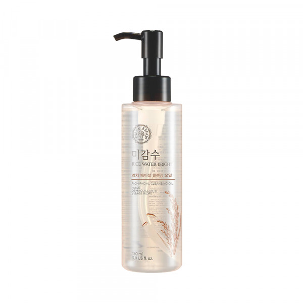 [THE FACE SHOP] Rice Water Bright Rich Facial Cleansing Oil - 150ml