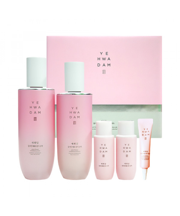 [THE FACE SHOP] Yehwadam Plum Flower Revitalizing Special Duo Set - 1pack (5items)