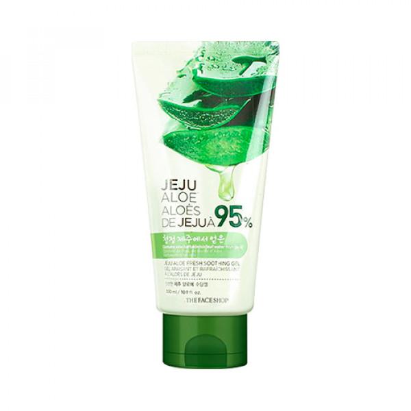 [THE FACE SHOP] Jeju Aloe Fresh Soothing Gel (Tube) (2021) - 300ml