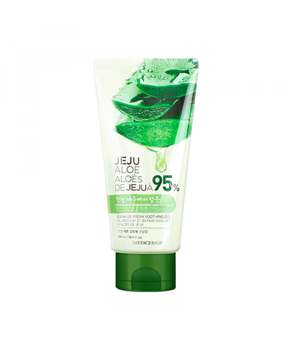 [THE FACE SHOP] Jeju Aloe Fresh Soothing Gel (Tube) (2021) - 300ml