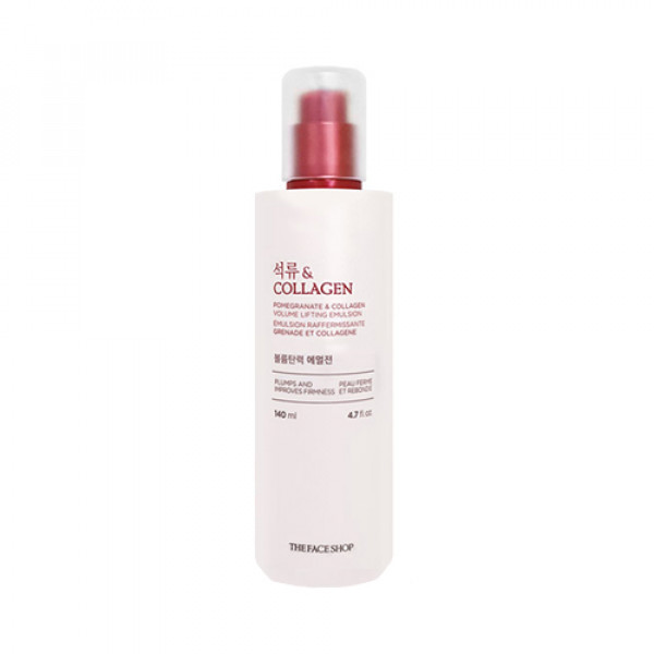 [THE FACE SHOP] Pomegranate & Collagen Volume Lifting Emulsion (2021) - 140ml