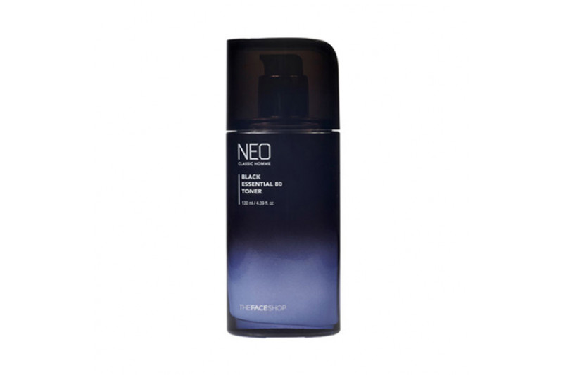 [THE FACE SHOP] Neo Classic Homme Black Essential 80 Toner - 130ml