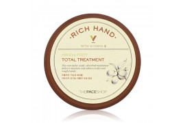 [THE FACE SHOP] Rich Hand V Hand&Foot Total Treatment - 110ml