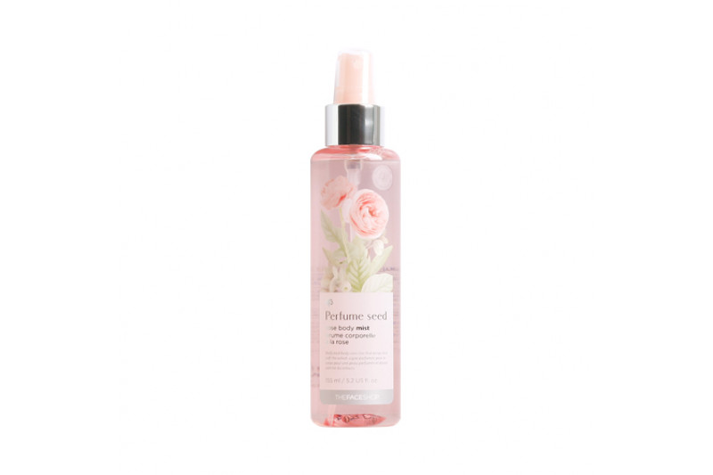 [THE FACE SHOP] Perfume Seed Rose Body Mist - 155ml