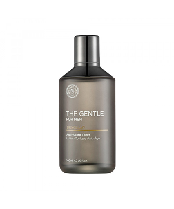 W-[THE FACE SHOP] The Gentle For Man Anti-Aging Toner - 140ml x 10ea