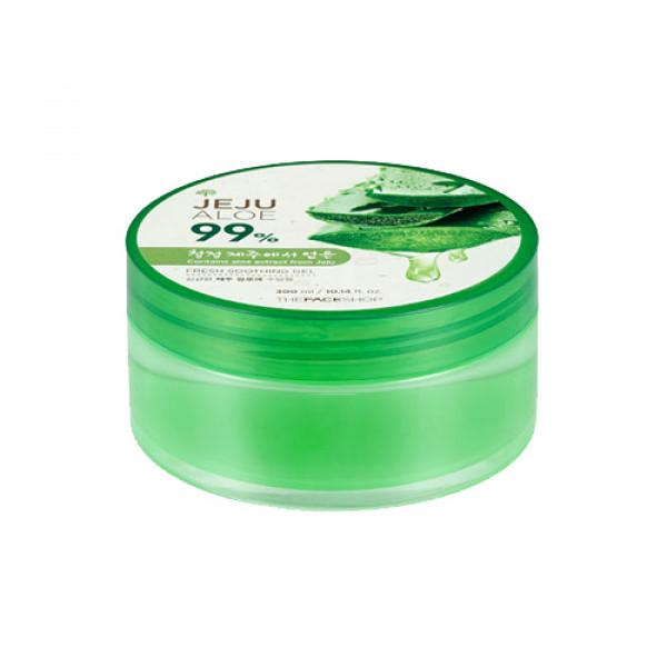 [THE FACE SHOP] Fresh Jeju Aloe 99% Soothing Gel - 300ml