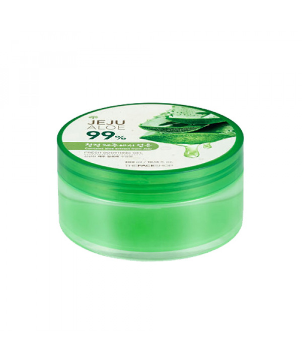 W-[THE FACE SHOP] Fresh Jeju Aloe 99% Soothing Gel - 300ml x 10ea