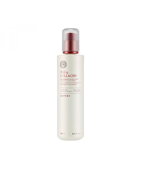 [THE FACE SHOP] Pomegranate & Collagen Volume Lifting Toner - 160ml (New)
