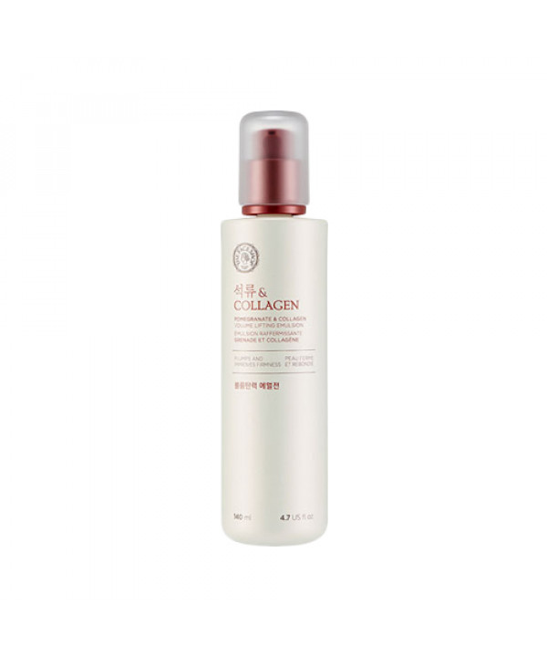 [THE FACE SHOP] Pomegranate & Collagen Volume Lifting Emulsion - 140ml (New)
