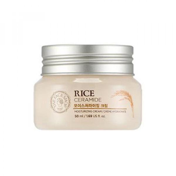 [THE FACE SHOP] Rice & Ceramide Moisturizing Cream - 50ml