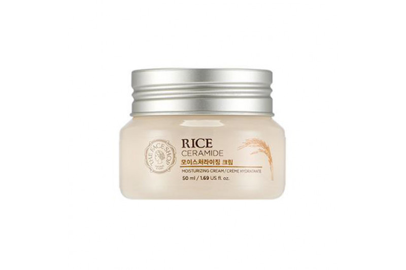 [THE FACE SHOP] Rice & Ceramide Moisturizing Cream - 50ml