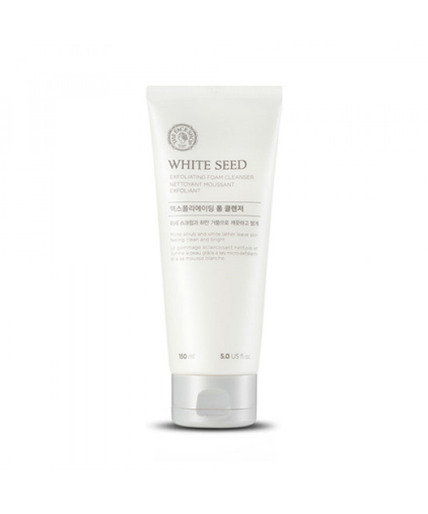 [THE FACE SHOP] White Seed Exfoliating Cleansing Foam - 150ml
