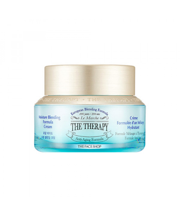 [THE FACE SHOP] The Therapy Moisture Blending Formula Cream - 50ml